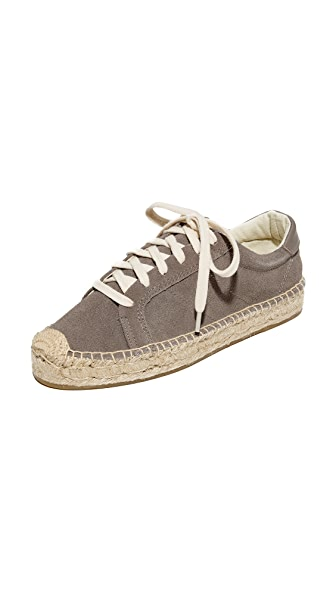 Soludos 厚底网球运动鞋