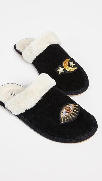 Soludos 星系风舒适拖鞋