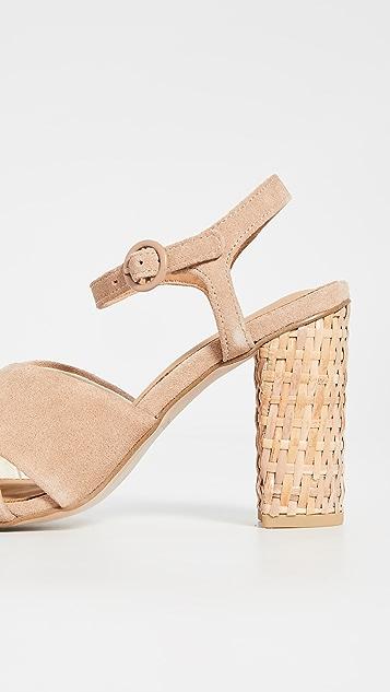 Soludos Olivia 粗跟凉鞋