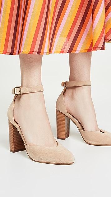 Soludos Collette 粗跟凉鞋