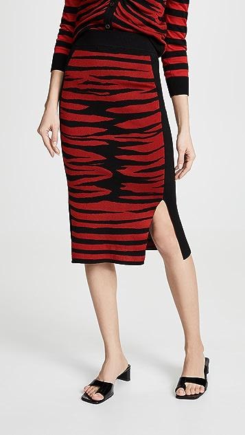 Sonia Rykiel 条纹半身裙