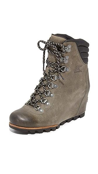 Sorel Conquest 坡跟短靴