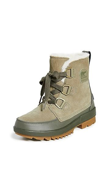 Sorel Tivoli 系带靴