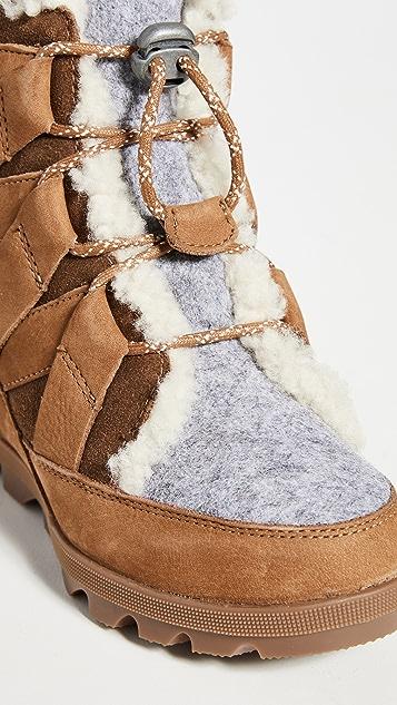 Sorel Joan of Arctic 坡跟靴子