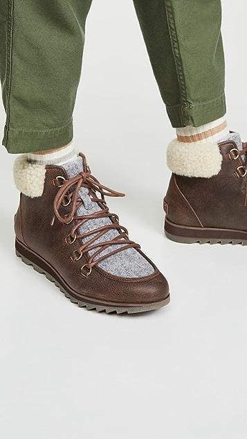 Sorel Harlow 舒适系带短靴