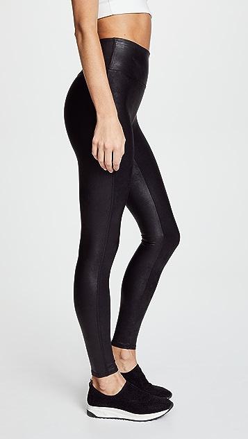 SPANX 仿皮贴腿裤