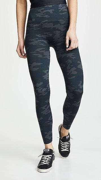 SPANX 无接缝迷彩贴腿裤
