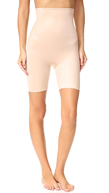 SPANX Power Conceal-Her 长至大腿中部的高腰短裤