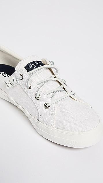 Sperry Crest Vibe 亚麻运动鞋