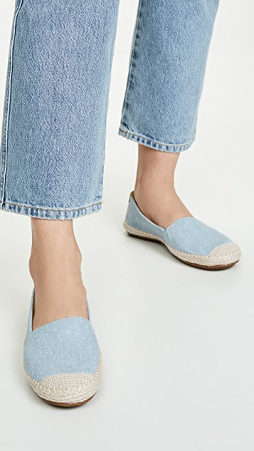 Sperry Sunset Ella 斑点编织底便鞋