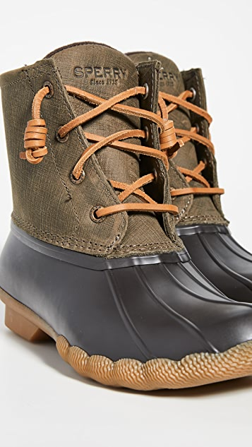 Sperry Saltwater 系带靴