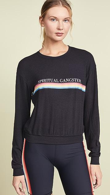 Spiritual Gangster Rainbow Savasana 运动衫