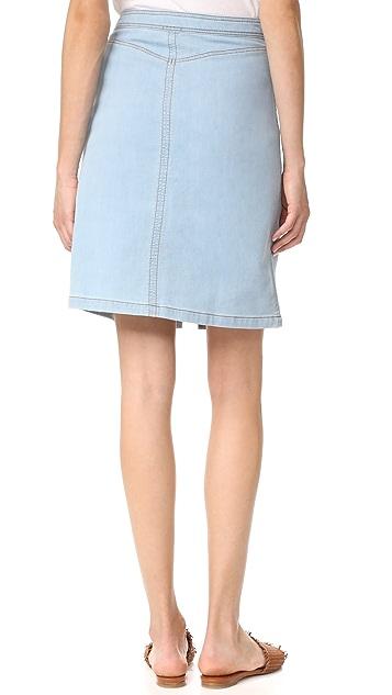 Splendid 靛蓝半身裙