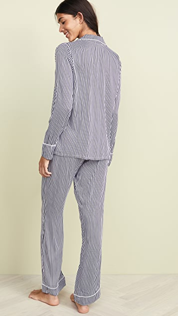 Splendid 凹口衣领睡衣套装
