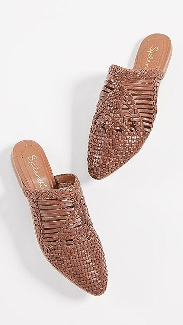Splendid Tucker 梭织穆勒鞋