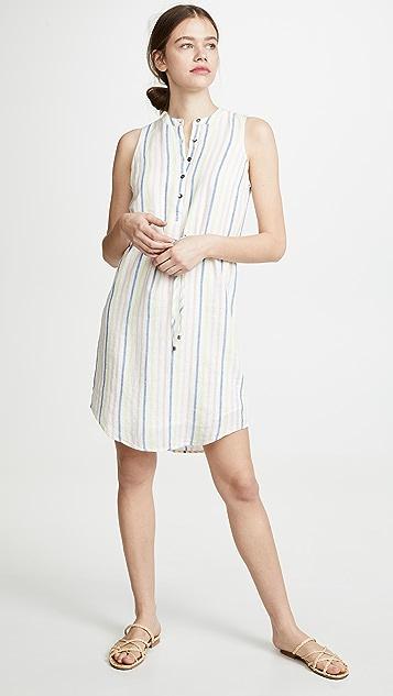 Splendid Picnic 条纹连衣裙