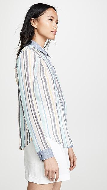 Splendid x Gray Malin 系扣衬衫
