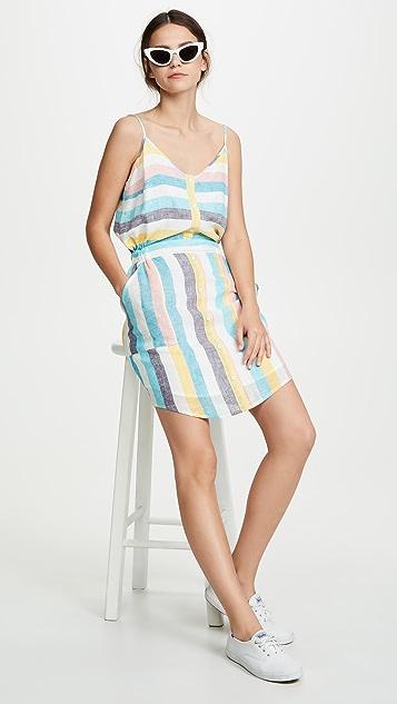 Splendid St. Barths 条纹连衣裙