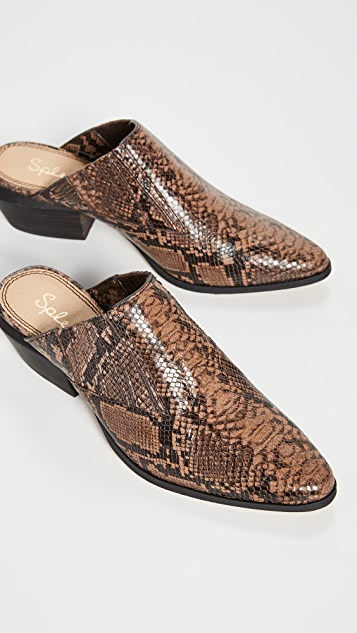 Splendid Hailee II 粗跟穆勒鞋