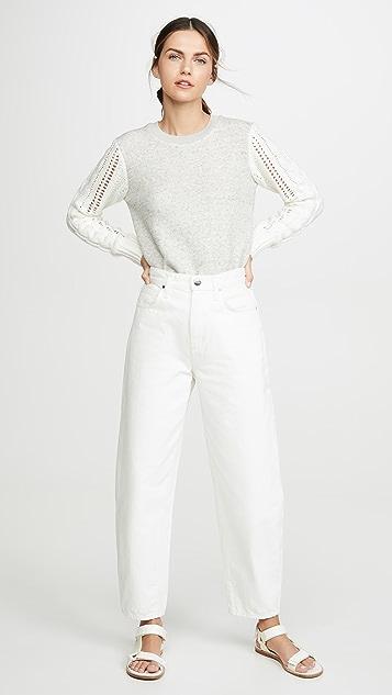 Splendid Emerson 混合材质套头衫