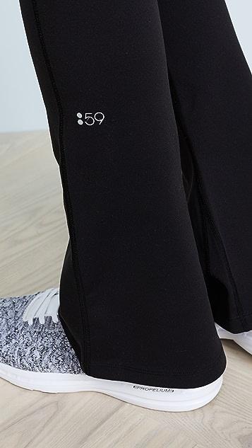 Splits59 Raquel 喇叭形考究贴腿裤