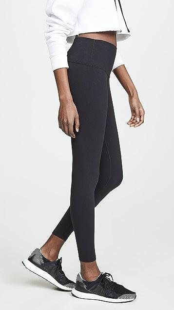 Splits59 Bardot 7/8 高腰贴腿裤