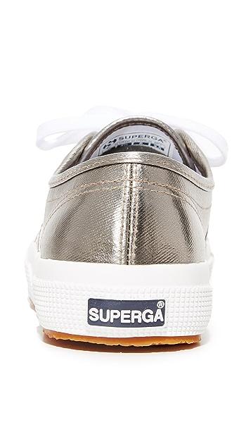 Superga 2750 Cotu 金属色运动鞋