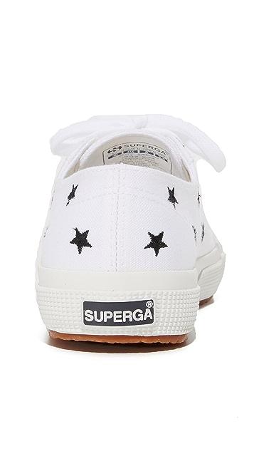 Superga 2750 刺绣 Cotu 运动鞋