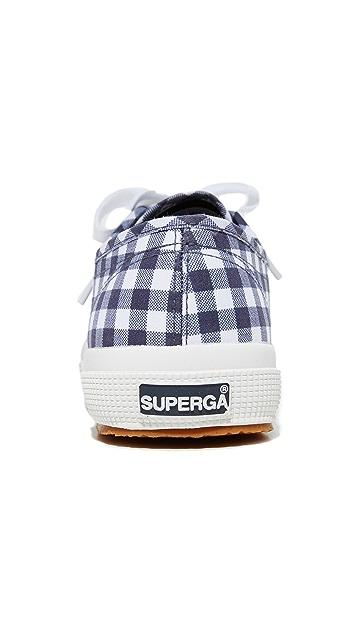 Superga 2750 经典格子运动鞋