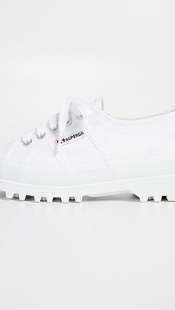 Superga 2555 Cotu 沟纹鞋底运动鞋