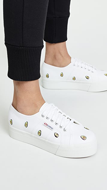 Superga 2750 Avocado Cotw 厚底运动鞋