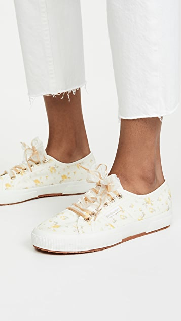Superga x LoveShackFancy 2750 扎染花卉运动鞋