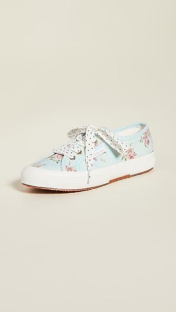 Superga x LoveShackFancy 2750 Provence 花卉运动鞋