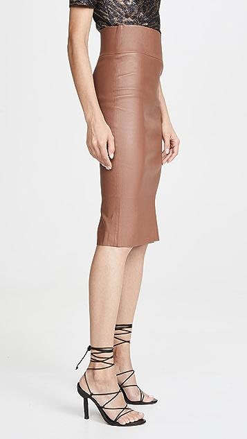 SPRWMN 皮铅笔裙