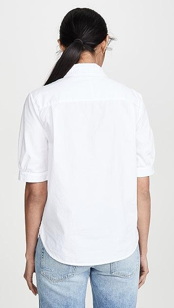 Stateside 府绸系扣衬衫