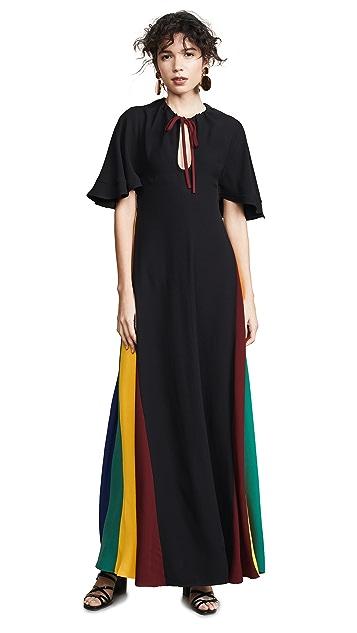 STAUD Victorian 连衣裙