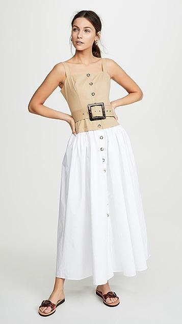 STAUD Marina 连衣裙