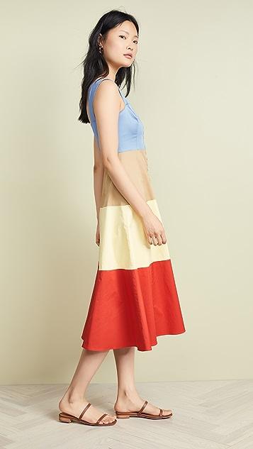 STAUD Ariel 连衣裙