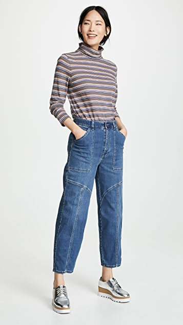 Stella McCartney 工装牛仔裤