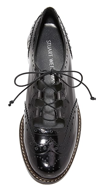 Stuart Weitzman Mrgill 系带牛津鞋