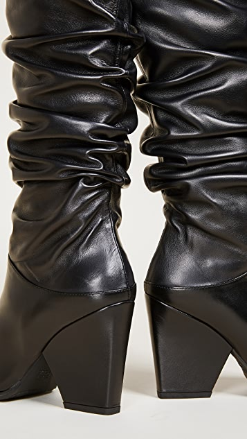 Stuart Weitzman Smashing 及膝靴子
