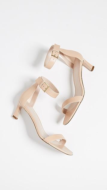 Stuart Weitzman Square Nudist 45 毫米凉鞋