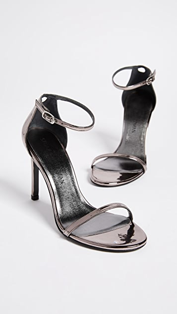 Stuart Weitzman Nudistsong 100 毫米凉鞋