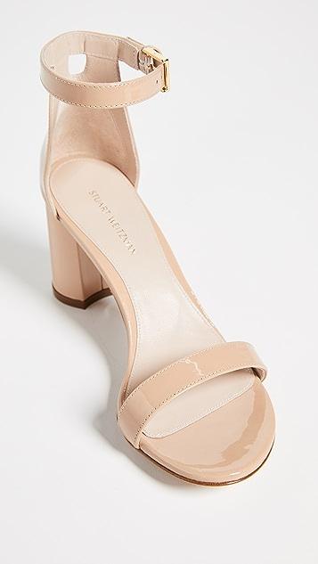Stuart Weitzman 75mm Less Nudist 凉鞋