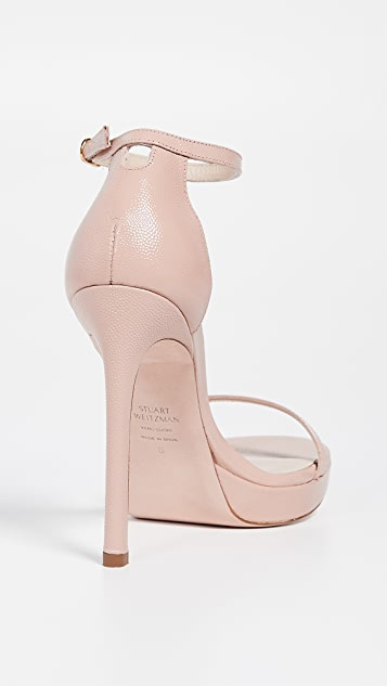 Stuart Weitzman Nudist Disco 凉鞋
