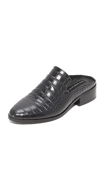 Steven Springer Croco 穆勒鞋