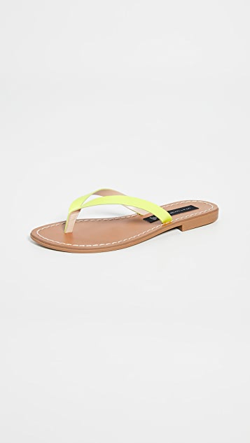 Steven Chey 夹趾凉鞋