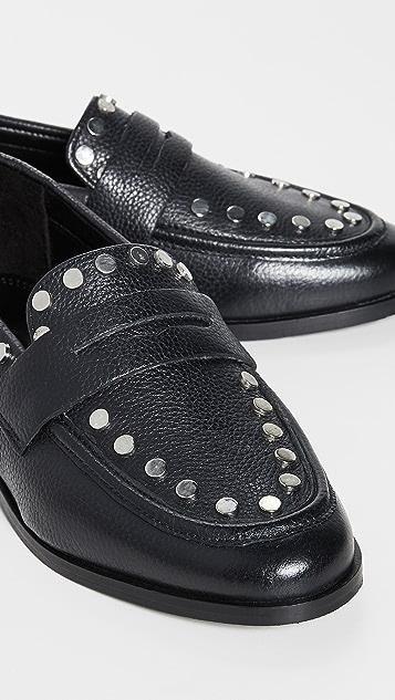 Steven Ample 铆钉装饰乐福鞋