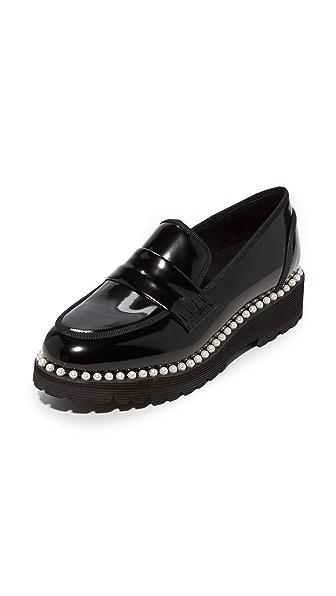 Suecomma Bonnie 人造珍珠装饰浅口船鞋