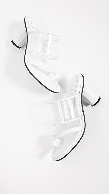 Suecomma Bonnie 透明跟凉鞋